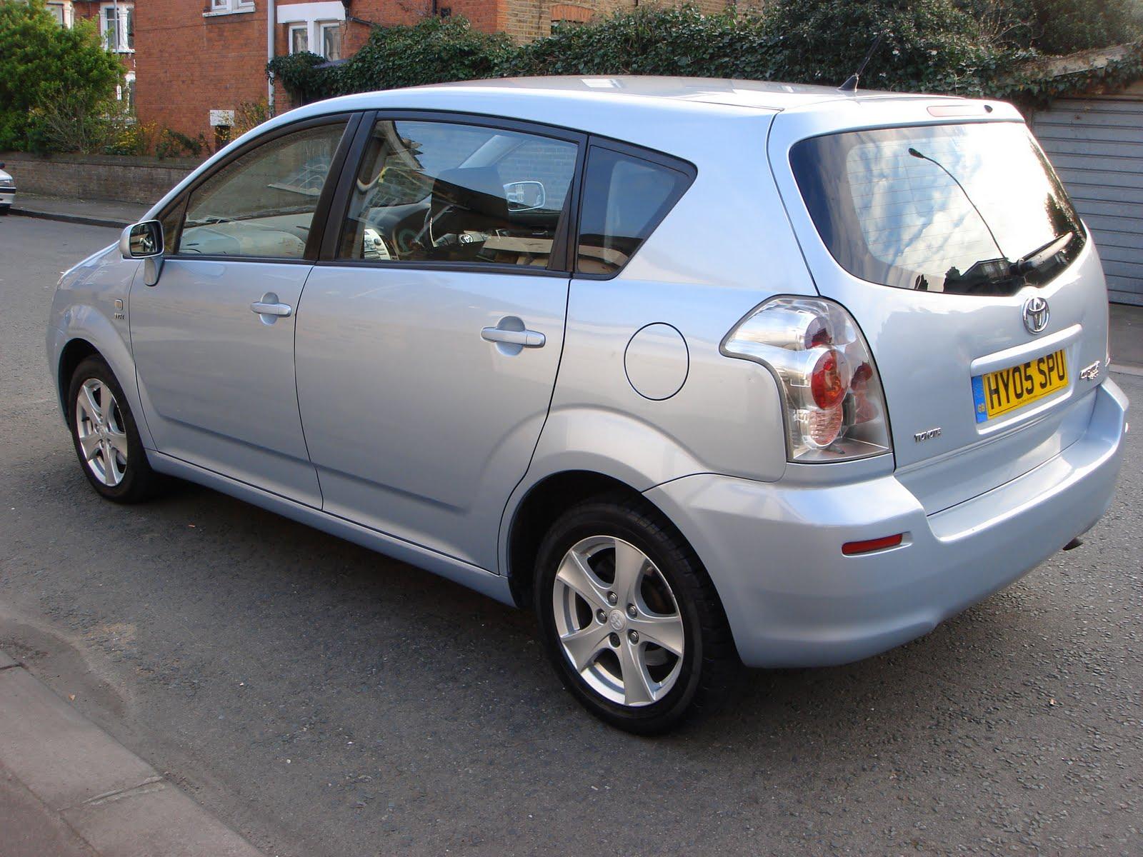 renault scenic 2004 toyota corolla verso 2005 auto