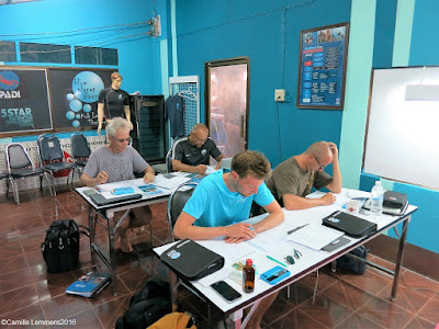 January 2016 PADI IDC on Koh Lanta has started