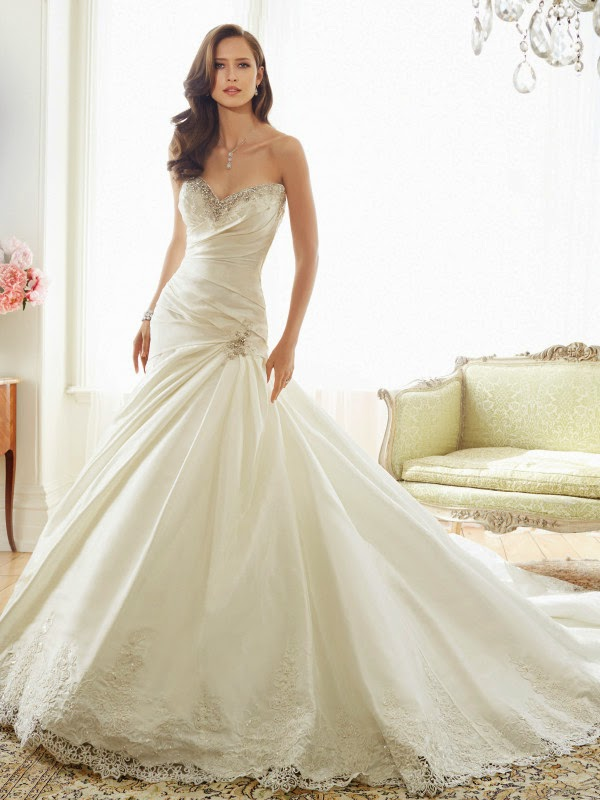 UNIQUE WEDDING DRESSES BY SOPHIA TOLLI, wedding ceremony gown, bridal dresses, WEDDING DRESS