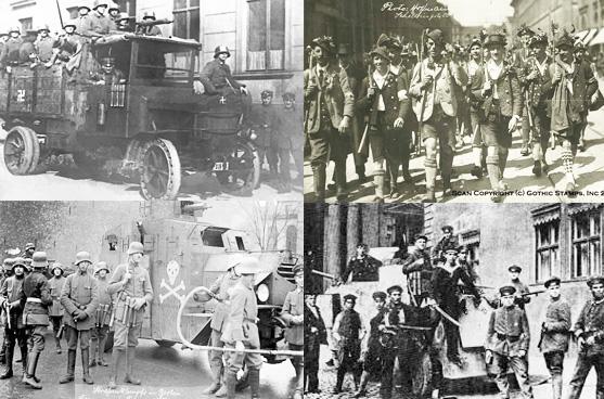 Laskar Freikorps,pasukan dengan seragam campur-baur