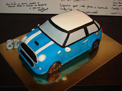 Bolo Mini Cooper 3D