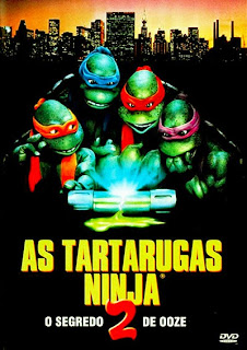 As Tartarugas Ninja 2: O Segredo do Ooze - DVDRip Dual Áudio