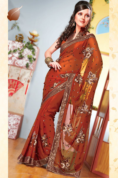 Latest Pakistani Amp Indian Saree Designs Pakistan