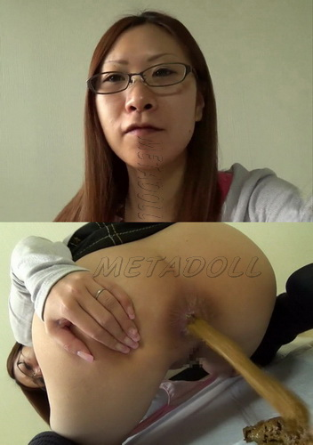 [JG-167] Self filmed enema and pooping girls