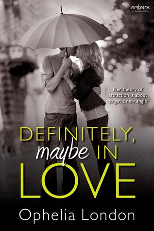 book cover of Definitely, Maybe in Love by Ophelia London