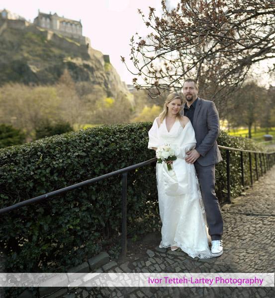 31 image panorama montage of wedding portrait