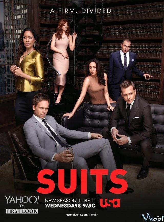 Phim Luật Sư Tay Chơi Phần 4 - Suits Season 4