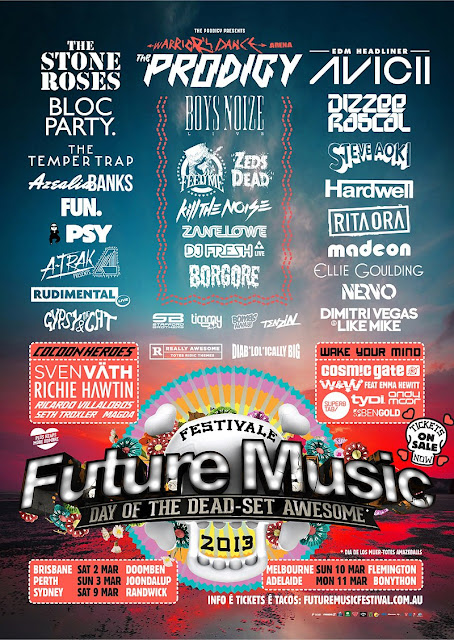 [Crónica] Future Music Festival. Cartel