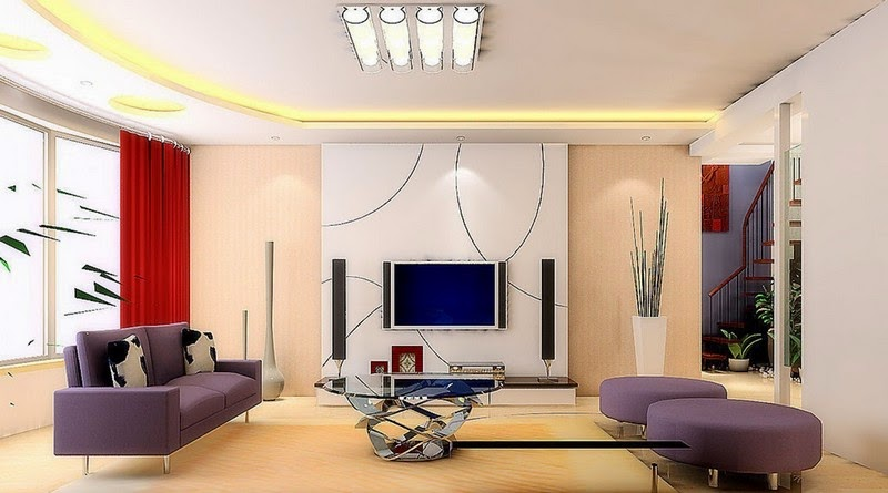 Model Of Minimalist Living Room Will Look Beautiful And Different When We  Give Some Touch Of Wall Paint Color Combinations That Are Better Suited