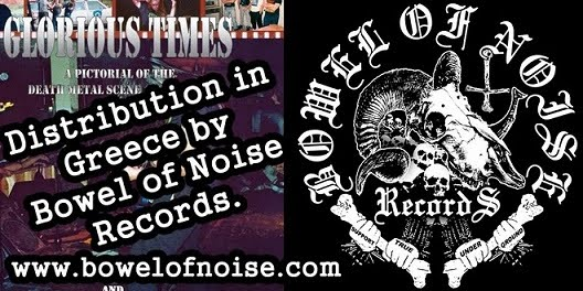 GLORIOUS TIMES AT BOWEL OF NOISE RECORDS!