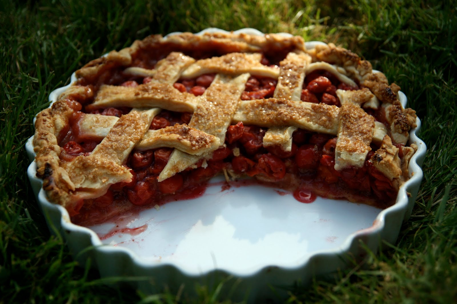 Sour Cherry Tart Recipe | mostly foodstuffs
