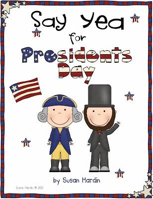 http://www.teacherspayteachers.com/Product/Say-Yea-for-Presidents-Day-203112