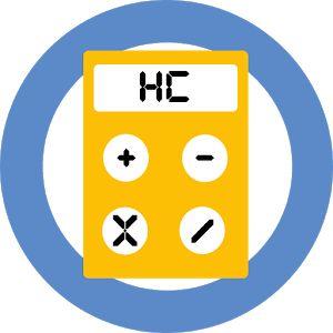 Calculadora de<br>hidratos de carbono