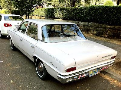 1965 Rambler American 330 sedan.