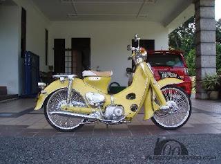 Gambar Foto modifikasi motor honda c70