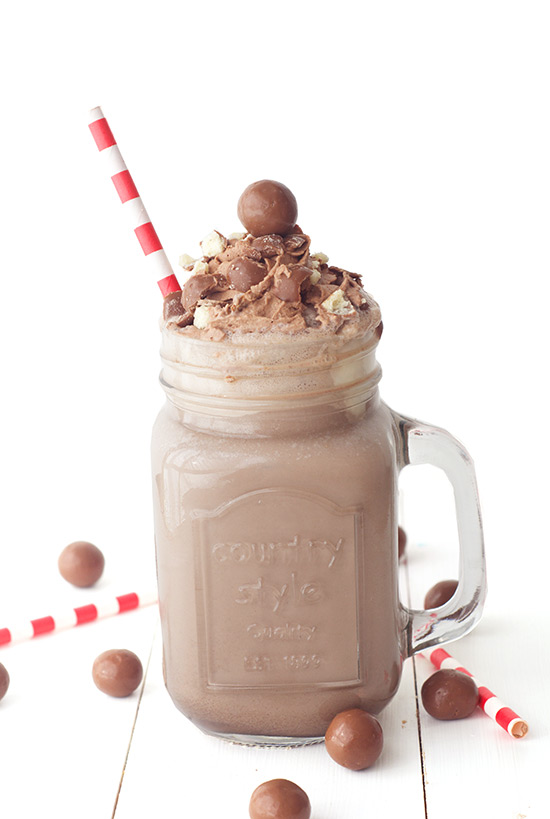 Chocolate Malt Shake - Tasty Shakes & Drinks Recipe - Isagenix.com