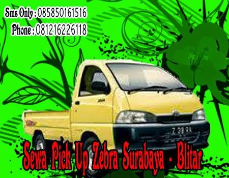 Sewa Pick Up Zebra Surabaya - Blitar
