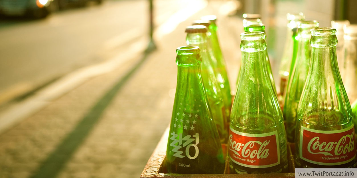 Botellas de Coca-Cola