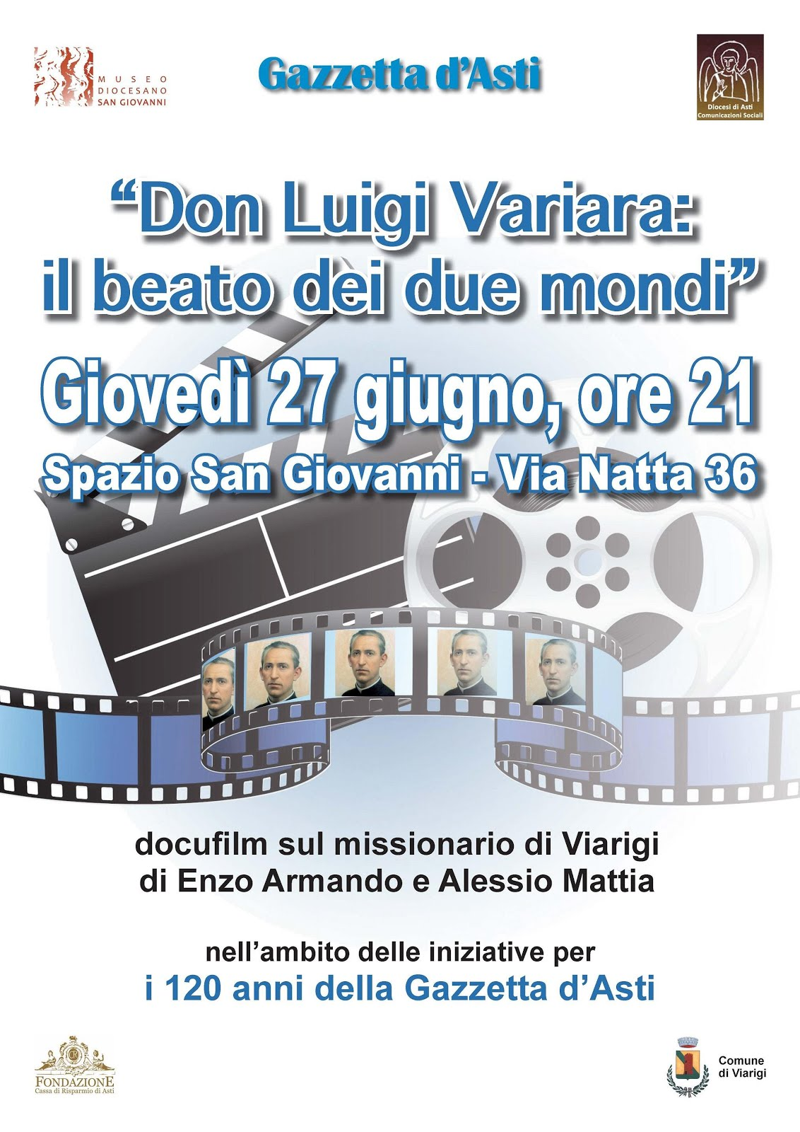 Asti ricorda Don Luigi Variara