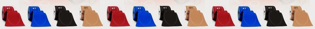 Red Blue Black Beige KT Tape