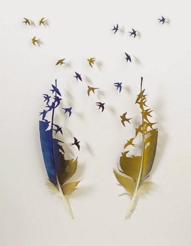 Chris Maynard cut feather art5