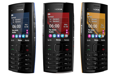Nokia X2-02 Dual SIM Mobile Features,Price and Specifications