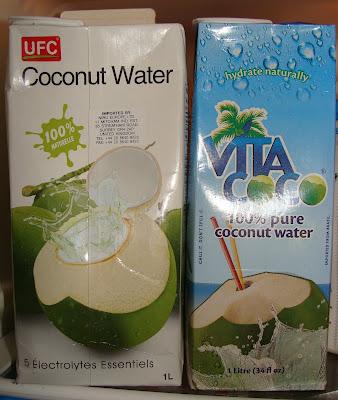 ufc coconut water verses vita coco