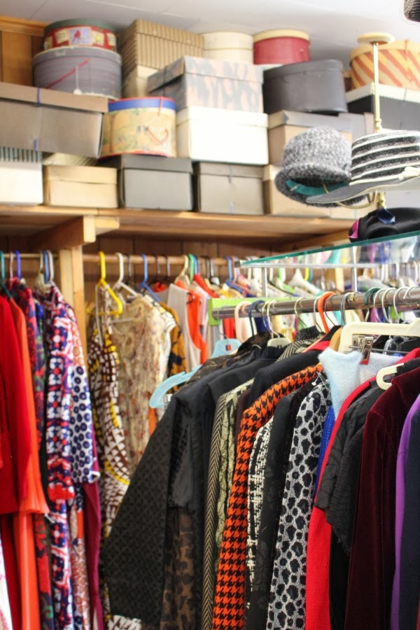 Oodles of Vintage Clothing!! #vintage #clothing #hats #fashion