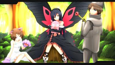Accel World Kuroyukihime | Anime | wallpaper | Butterfly wing