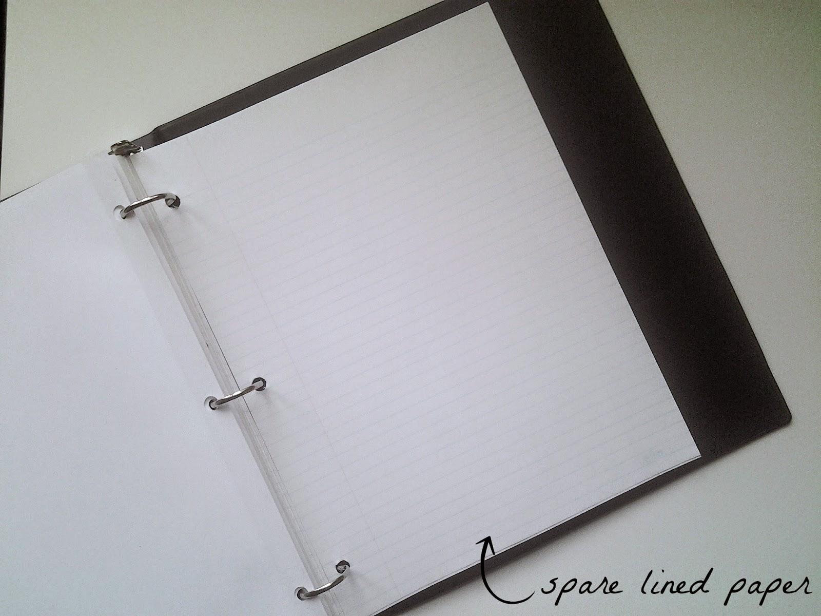 student organize binder
