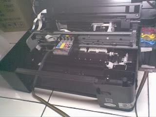 Cara service Printer Epson TX121 Mati Total