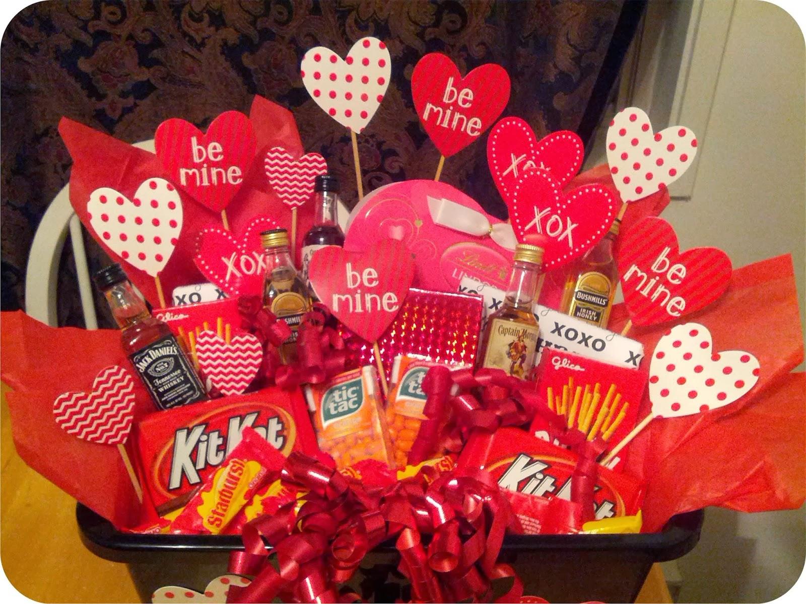 valentine gift baskets him