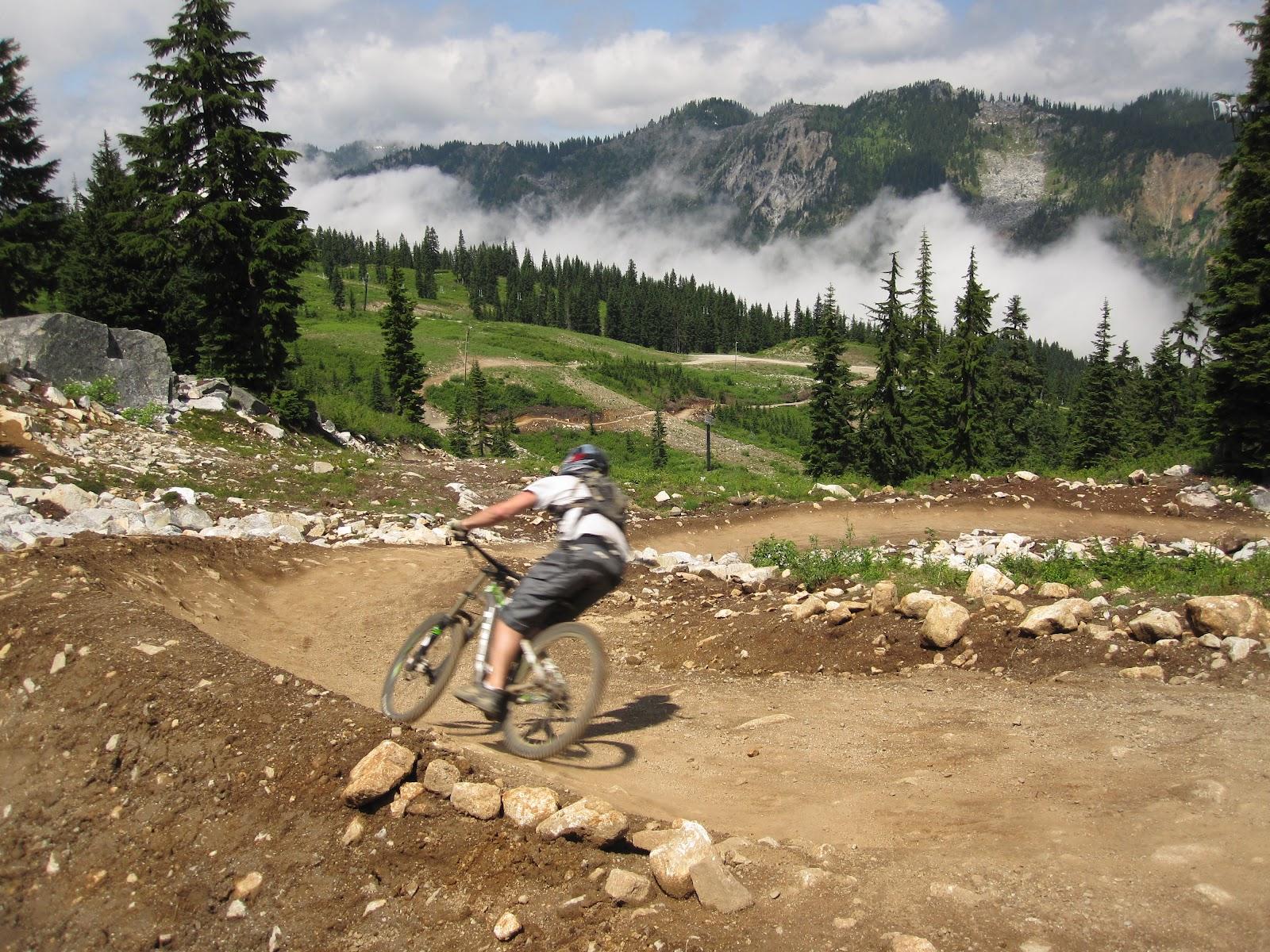 Mike Mcquaide Stevens Pass Bike Park Photos