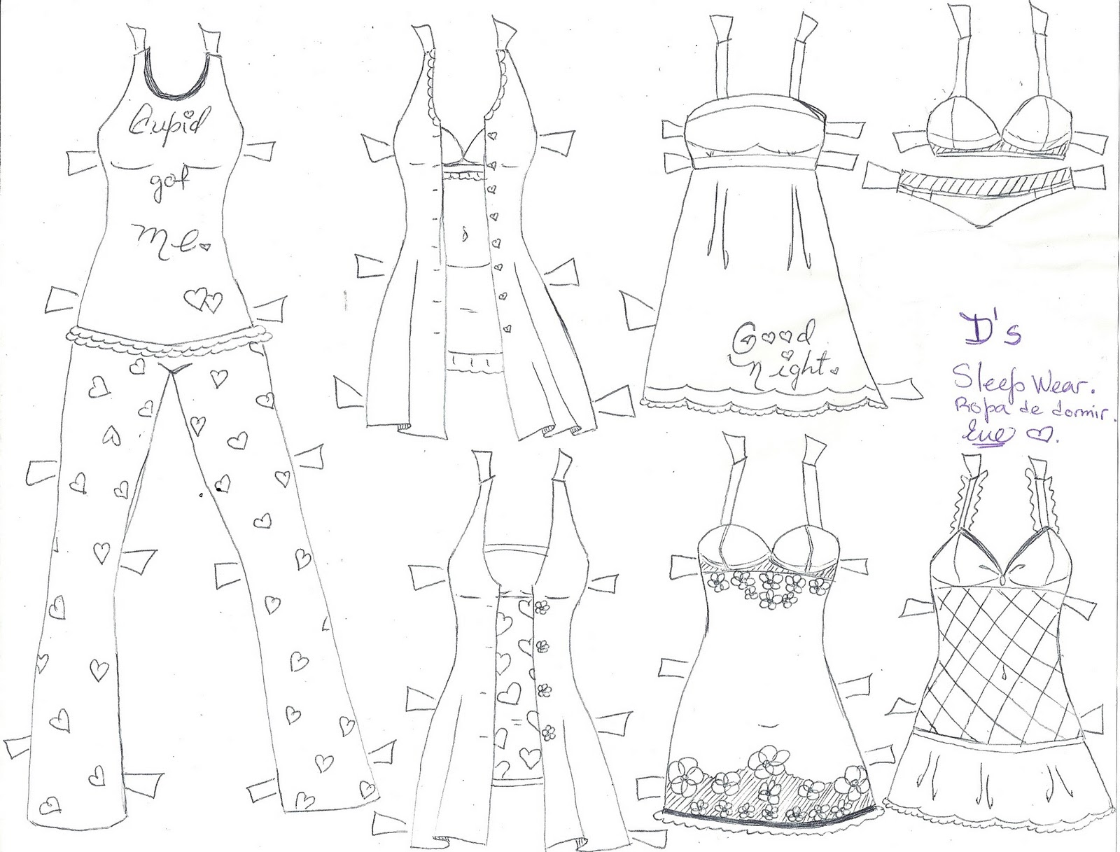 paper doll eve a girl dreams d the paper doll mini