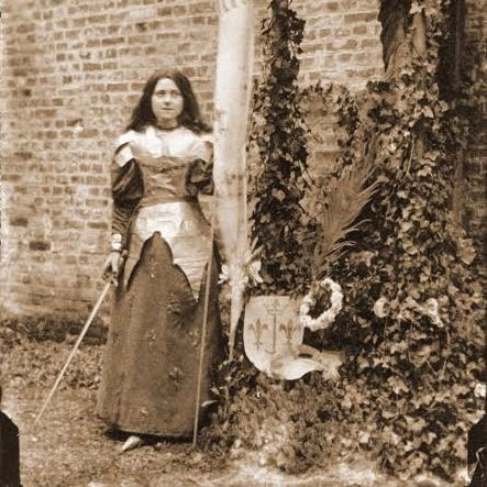 St Thérèse as Joan of Arc