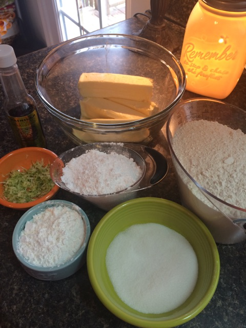 Recipe for lime cooler cookies