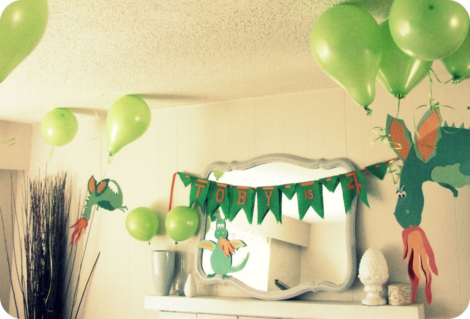 My House Of Giggles A Dragon Birthday Party Part 1