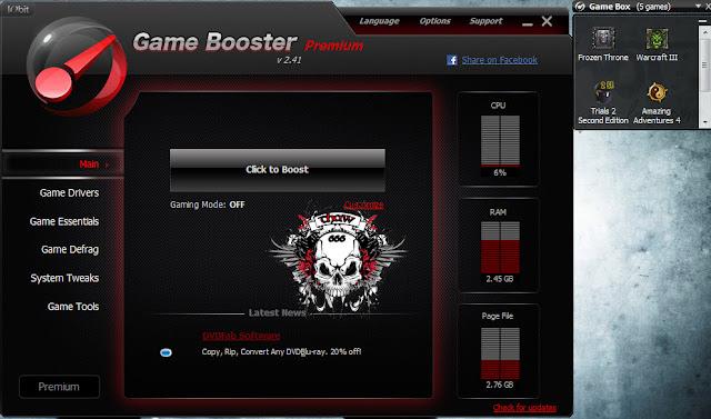 descargar game booster full