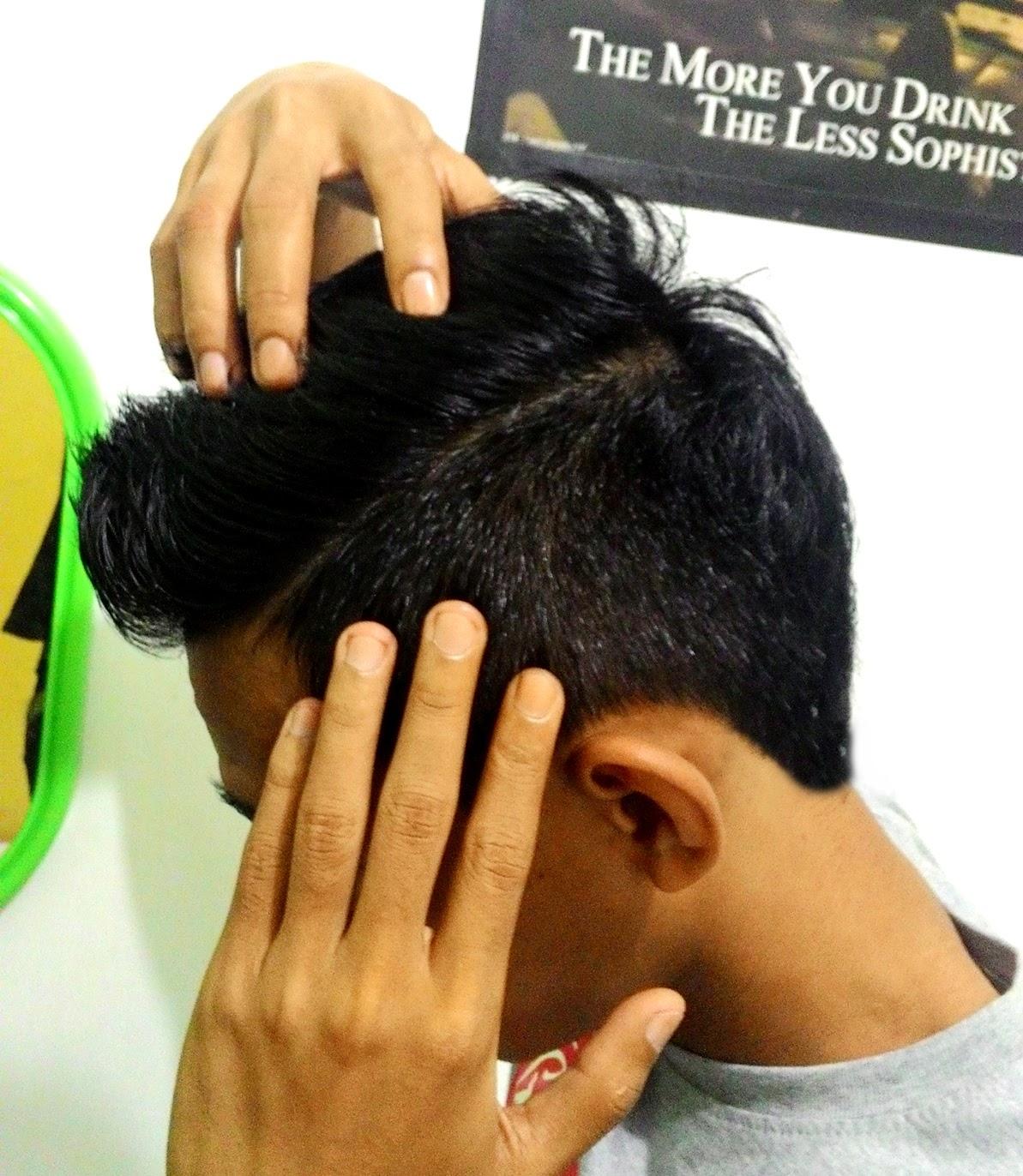 Cara Menghilangkan Efek atau Pengaruh Pomade dari Rambut