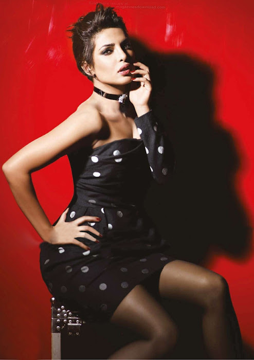 priyanka chopra vogue shoot hot images