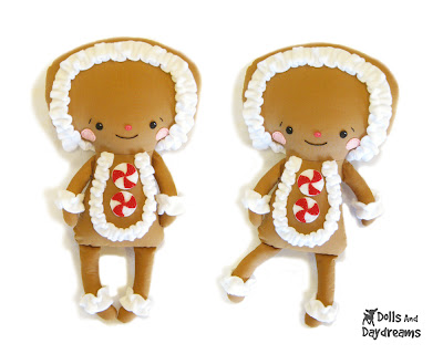 Gingerbread Doll - Free Crochet Patterns