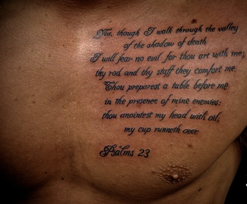 Lot bible quotes quotesgram for Does the bible say no tattoos