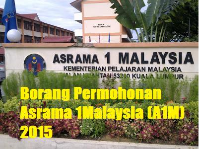 Asrama 1Malaysia (A1M) 2015
