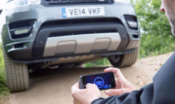 VIDEO: Land Rover can be operated thru Remote Control in your smartphone