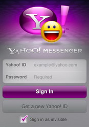 Yahoo Messenger for iPhone adds 3G video calling