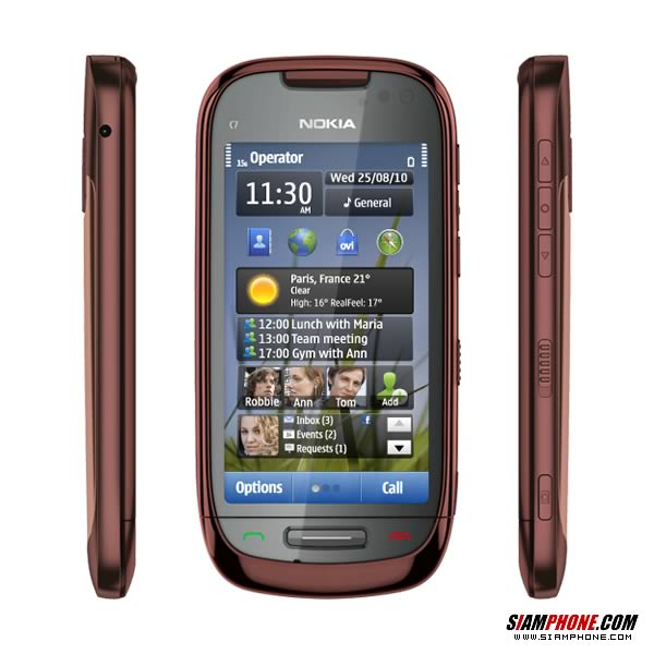 Slots for nokia c7