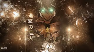 Attack on Titan Shingeki no Kyojin Eren Jaeger Titan Form Anime HD Wallpaper Desktop Background