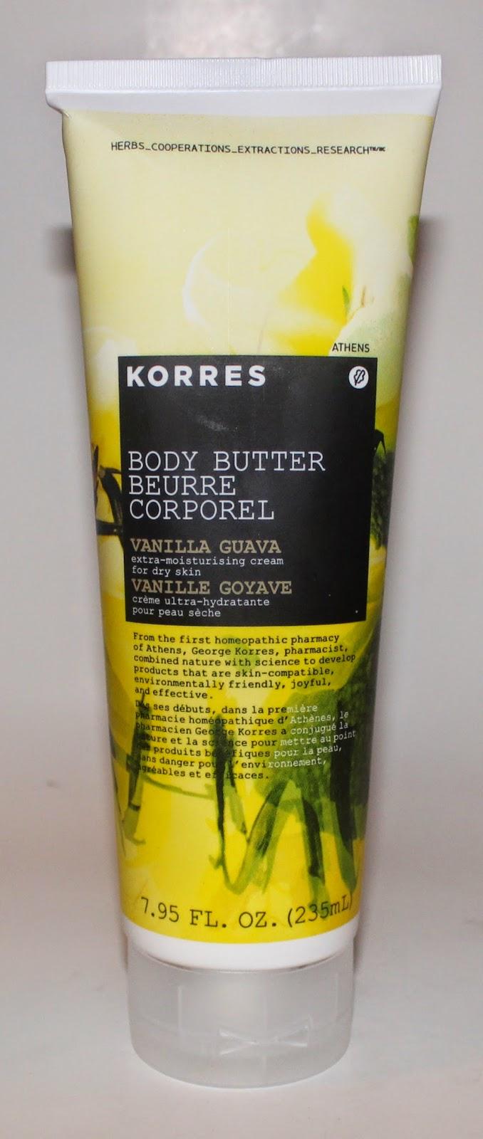Korres Vanilla Guava Body Butter