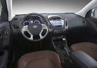 Fotos interior do Hyundai ix35 com Bancos de Couro e Mp3