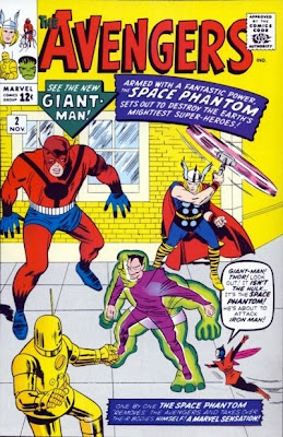 Avengers #2, The Space Phantom